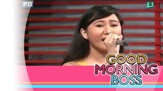 [Good Morning Boss] Performing Live: Athena Castillo [01|19|16]