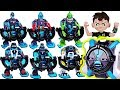 Download Video Download Ben 10 Omni-Launch Battle Transform Figure! Omni-Enhanced alien! Defeat dinosaurs! #DuDuPopTOY 3GP MP4 FLV