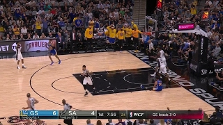 Quarter 1 One Box Video :Spurs Vs. Warriors, 5/21/2017