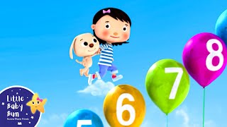 Numbers Song 1-10 | Part 2 | Nursery Rhymes | Original Song by LittleBabyBum!