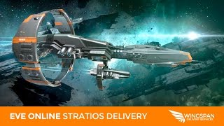 EVE Online: Solo Stratios vs 8 Pilot Fleet?! EASY GANK GONE INSANELY WRONG!