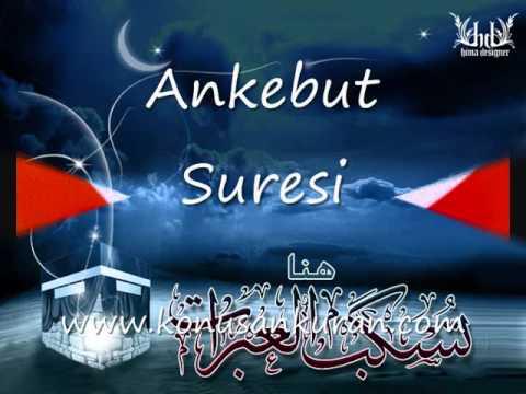 Ankebut Suresi - Konuşan Kuran-ı Kerim-029 (Arapça - Türkçe) - 1