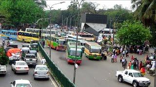 Video Footage of Traffic Jam in Dhaka City, Bangladesh