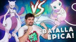 ¡¡¡MEW vs MEWTWO en Pokémon GO!!! [Keibron]