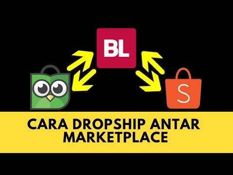 Cara Dropship Antar Marketplace
