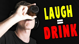 TRY NOT TO LAUGH CHALLENGE (Alcohol Edition)!