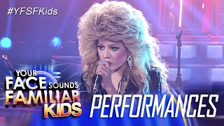 Your Face Sounds Familiar Kids: Lyca Gairanod as Bonnie Tyler - Total Eclipse Of The  Heart