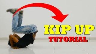 Kip Up / Kick Up Tutorial   Learn How to Kip Up In 5 Minutes   Nishant Nair