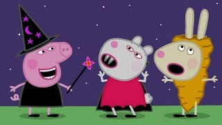 Peppa Pig Halloween Episodes -  Trick or Treat! - Halloween - Cartoons for Children