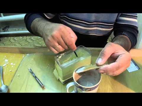 как сделать форму из гипса для джиги