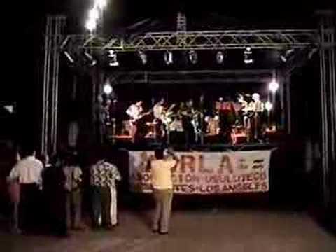 Los Vikings de Usulutan en concierto