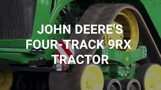 Video: We test John Deere's four-track 9RX tractor