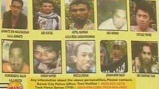 UB: Davao police, naglabas ng terrorist watchlist 2 araw bago ang thanksgiving party ni Duterte