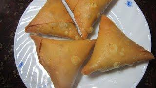 Easy snack recipes | Somucha recipe | Honey Kitchen-35