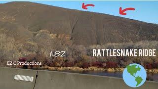 Rattlesnake Ridge in Yakima & Union Gap;  North View!!