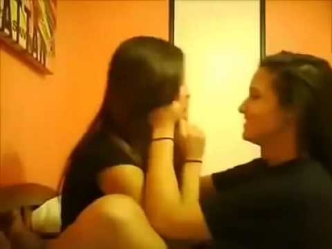 Sexy Indian lesbians kissing