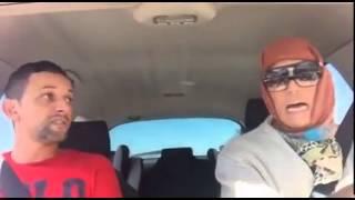 Dahk'man - Miqueline est devenue taxi a Marrakech !