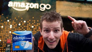 We Stole Tampons from the Cashier-less Amazon Go Store