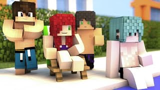 TODOS SEXYS EN BAÑADOR Y BIKINI !!! | Cap. 14 SCHOOL LIFE ( Minecraft Roleplay )