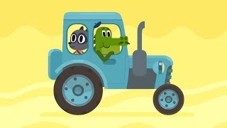 Trucks and Cars For Kids - Cars, cars - Police Car, Fire Truck, Convertible - Compilation for Kids
