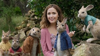 Peter Rabbit ALL MOVIE Clips & Trailers - Daisy Ridley, Margot Robbie, James Corden Movie