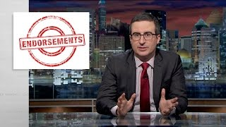Endorsements (Web Exclusive): Last Week Tonight with John Oliver (HBO)