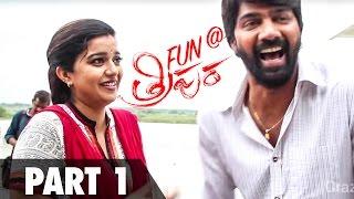 Fun On The Sets Of Tripura - Part 1 - Swathi, Naveen Chandra, Saptagiri