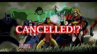 The Avengers: Earth's Mightiest Heroes Cartoon Cancelled!?  After Second Season?