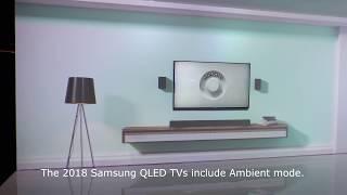 Samsung 2018 QLED Ambient Mode Demo Loop