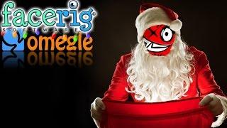 Omegle Trolling w/ Facerig! (Santa Edition)