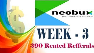 Neobux Week 3 Live Earning Proofs in Telugu    Earn Money From Home With or Without investment