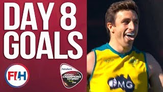 Day 8 ALL THE GOALS! | 2018 Men's Hockey Champions Trophy | HIGHLIGHTS