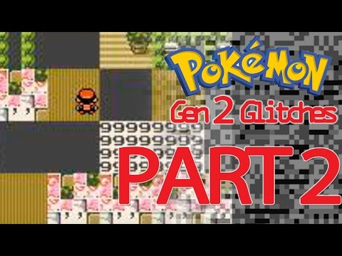 Pokémon Gen 2 Glitches (Part 2): Getting Glitchy Trainers, Pokemon, and Unown! - Tamashii Hiroka