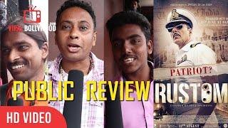 Rustom Movie Public Review   Akshay Kumar, Ileana D