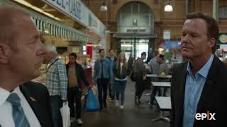 Berlin Station Season 2: Ep 209 - Josef and Nick at the Market I EPIX