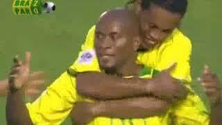 QWC 2006 Brazil vs. Paraguay 4-1 (05.06.2005)