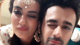 Naagin 3-Surbhi Jyoti and Pearl V Puri Latest Masti-19 May 2018