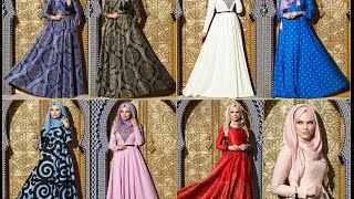 Muslima Wear 2015 İlkbahar Yaz Uzun Giyim Modelleri
