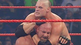 Goldberg vs. Kane - Lumberjack Match: Raw, Dec. 8, 2003