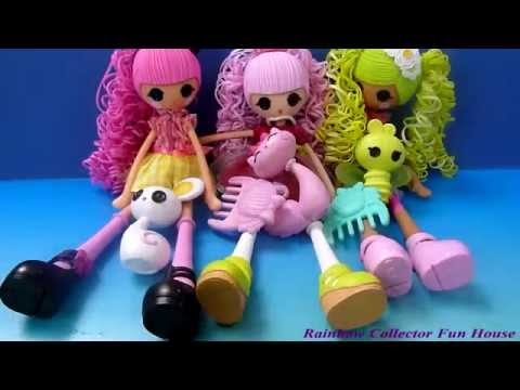 Lalaloopsy Dolls Hair Change Color