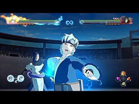 Naruto Storm 4 Road To Boruto - Mitsuki All Moveset x Team Ultimate Jutsus (Boruto Movie DLC)