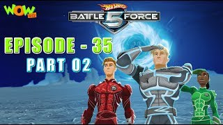 Motu Patlu presents Hot Wheels Battle Force 5 - Deep Freeze - S2 E35.P2 - in Hindi