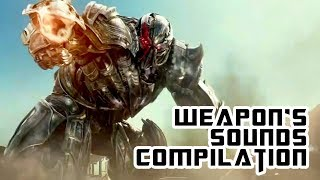 TRANSFORMERS - WEAPON'S SOUNDS COMPILATION