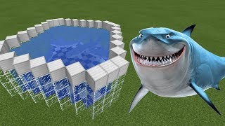 How To Make a SHARK FARM in Minecraft PE