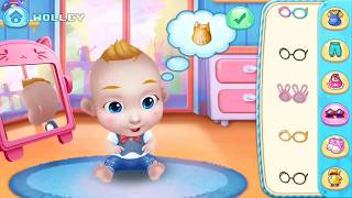 Baby Boss   Fun Doctor, Bathtime,  Feed, Dress Up & Set To Sleep - Baby Care Games for Kids