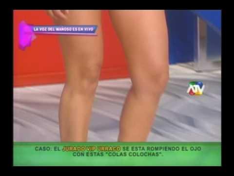 Colombianas en hilos dentales en Magaly TEVE