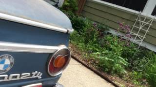 1973 BMW 2002tii (Old Blue) Walk Around