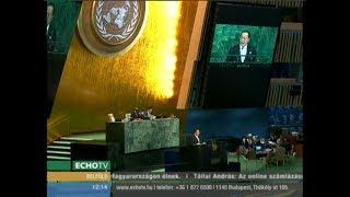 New Yorkban fenyegetőzött az észak-koreai külügyminiszter - Echo Tv