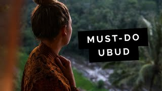 Must do: Ubud, Indonesia || video by Little Grey Box