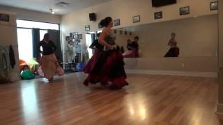Private Class Skirt dance